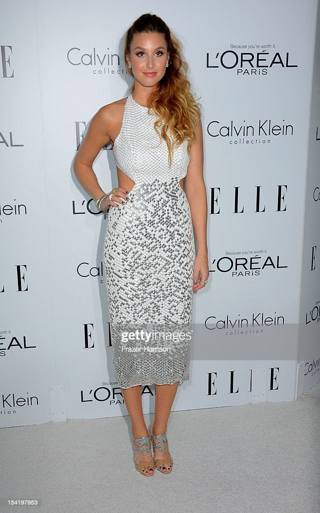 Actress Whitney Port arrives at ELLE's 19th Annual Women In Hollywood Celebration at the Four Seasons Hotel on October 15, 2012 in Beverly Hills, California.