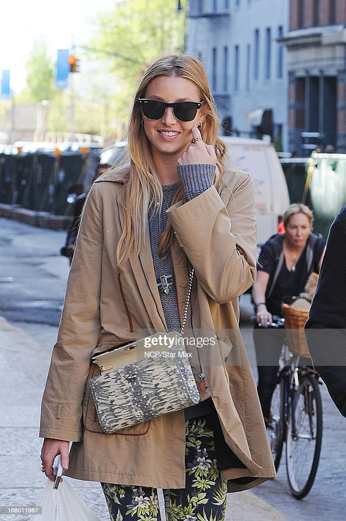 Actress Whitney Port as seen on May 3, 2013 in New York City.