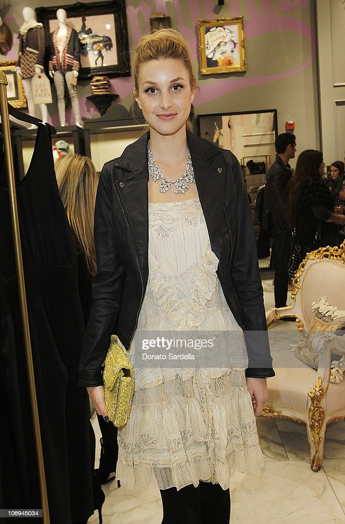 Actress Whitney Port attends Juicy Loves Glamour Girls by Erin Fetherston Launch hosted by Vogue at Juicy Couture on November 17, 2010 in Beverly Hills, California.