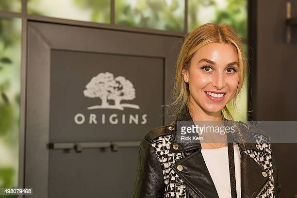 Actress Whitney Port unveils Origins new discovery store concept on November 20 2015 in Austin Texas