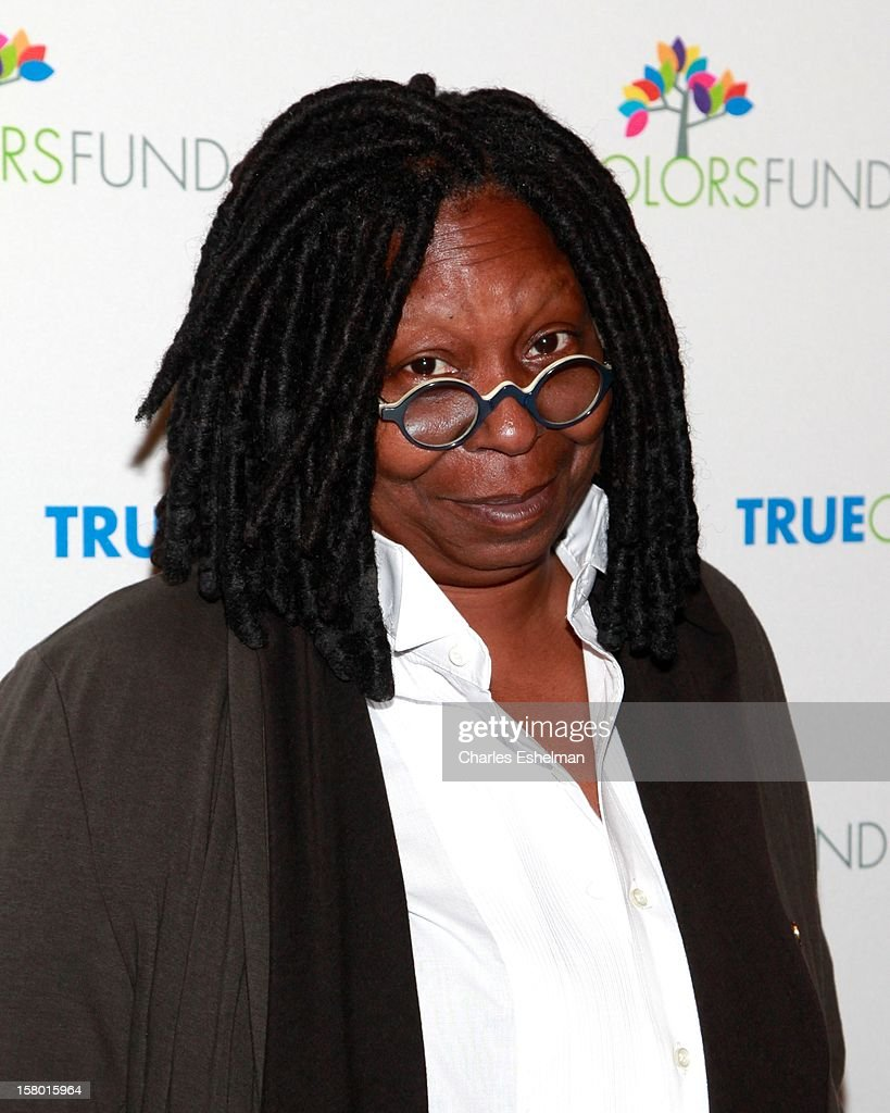 Actress Whoopi Goldberg arrives at The Beacon Theatre on December 8, 2012 in New York City.