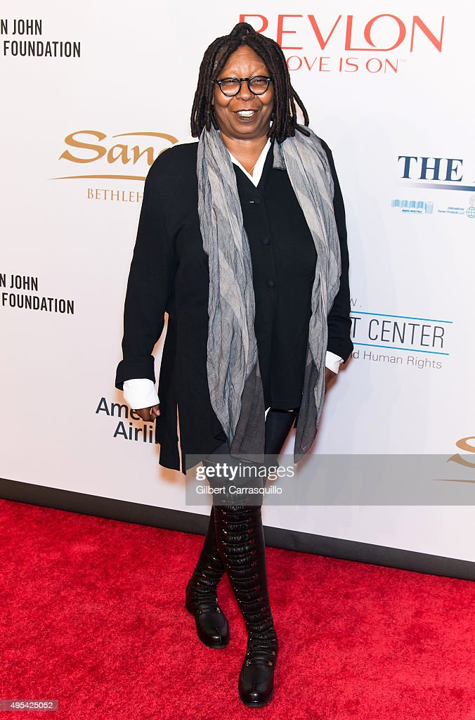 Actress Whoopi Goldberg attends the 14th annual An Enduring Vision Benefit Gala presented by the Elton John AIDS Foundation at Cipriani Wall Street...