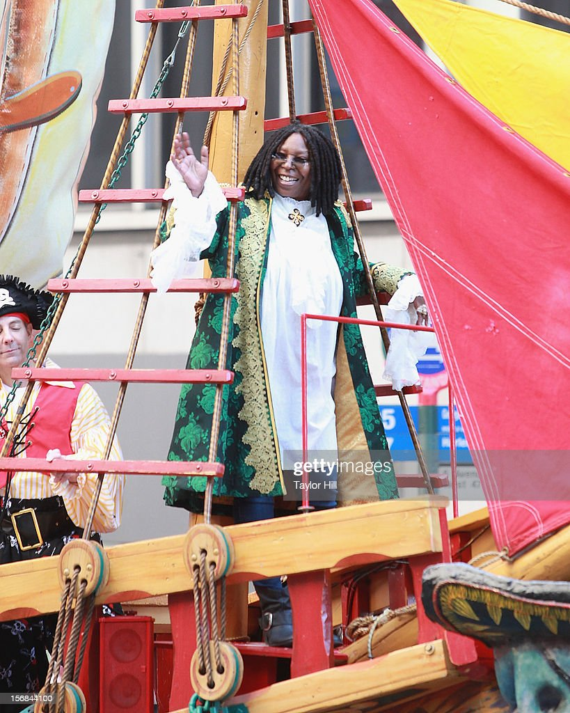 Actress Whoopi Goldberg attends the 86th Annual Macy's Thanksgiving Day Parade on November 22, 2012 in New York City.