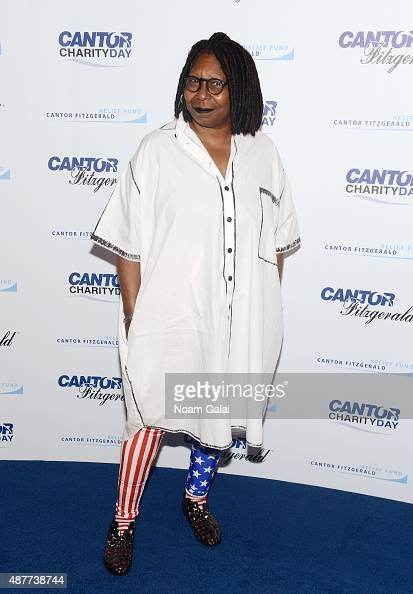 Actress Whoopi Goldberg attends the annual Charity Day hosted by Cantor Fitzgerald and BGC at Cantor Fitzgerald on September 11 2015 in New York City
