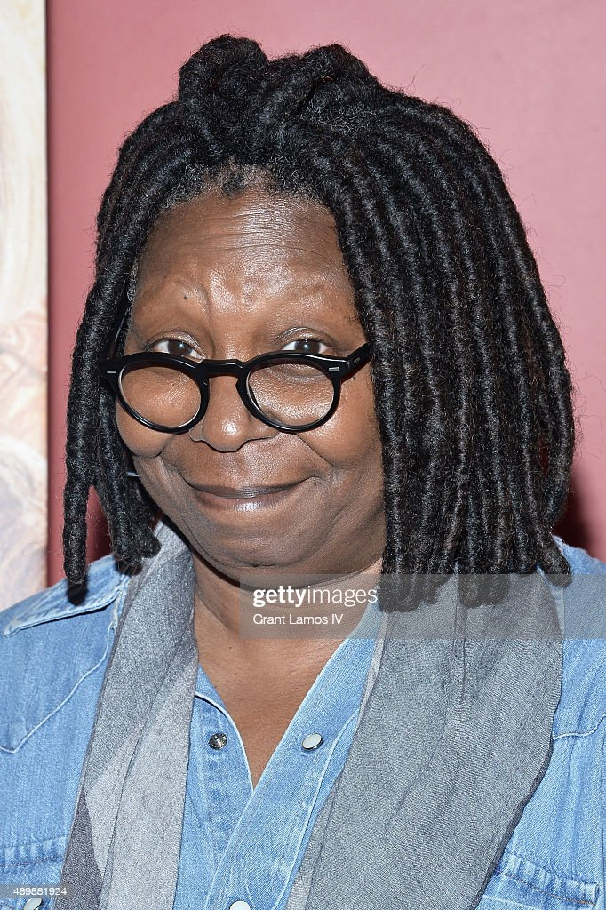 Actress Whoopi Goldberg attends the 'Big Stone Gap' New York screening at Sunshine Landmark on September 24 2015 in New York City