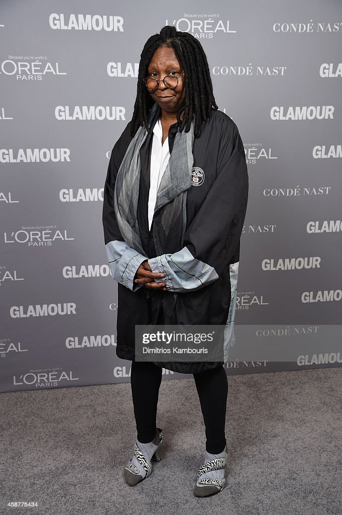 Actress Whoopi Goldberg attends the Glamour 2014 Women Of The Year Awards at Carnegie Hall on November 10 2014 in New York City