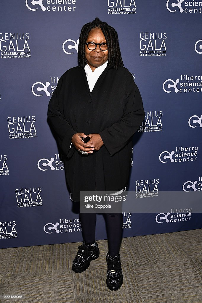 Actress Whoopi Goldberg attends the Liberty Science Center's Genius Gala 50 on May 20 2016 in Jersey City New Jersey