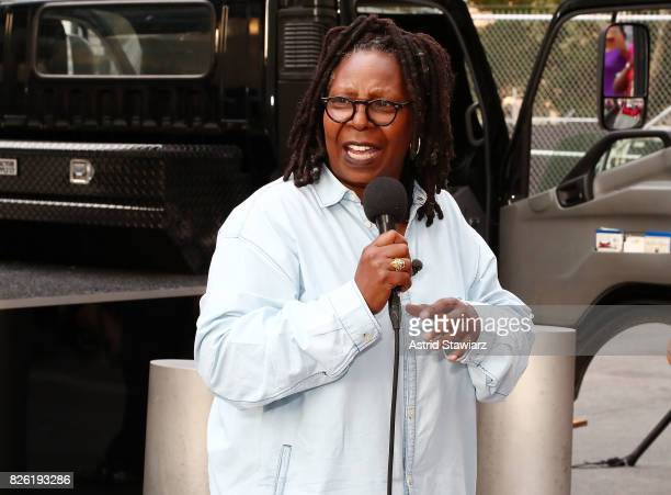 Actress Whoopi Goldberg attends the Sister Act screening at Westfield World Trade Center at The Oculus at Westfield World Trade Center on August 3...