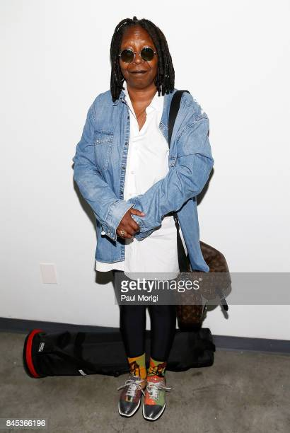Actress Whoopi Goldberg attends the Tracy Reese presentation during New York Fashion Week at Pier 59 on September 10 2017 in New York City