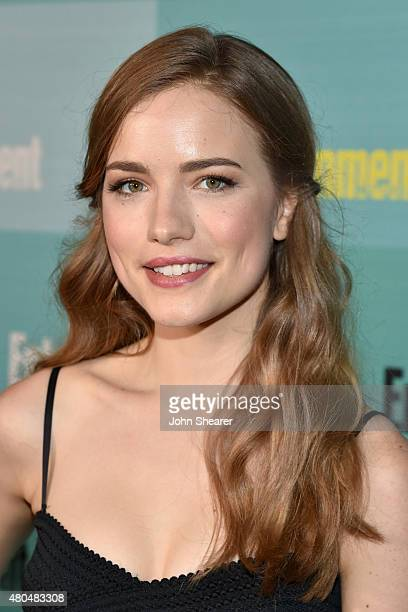 Actress Willa Fitzgerald attends Entertainment Weekly's Annual ComicCon Party in celebration of ComicCon 2015 at FLOAT at The Hard Rock Hotel on July...