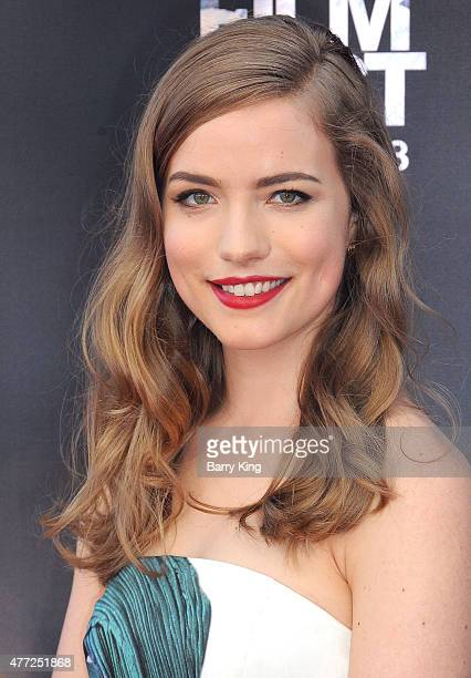 Actress Willa Fitzgerald attends the premiere Of MTV and Dimension TV's 'Scream' at the 2015 Los Angeles Film Festival at Regal Cinemas LA Live on...