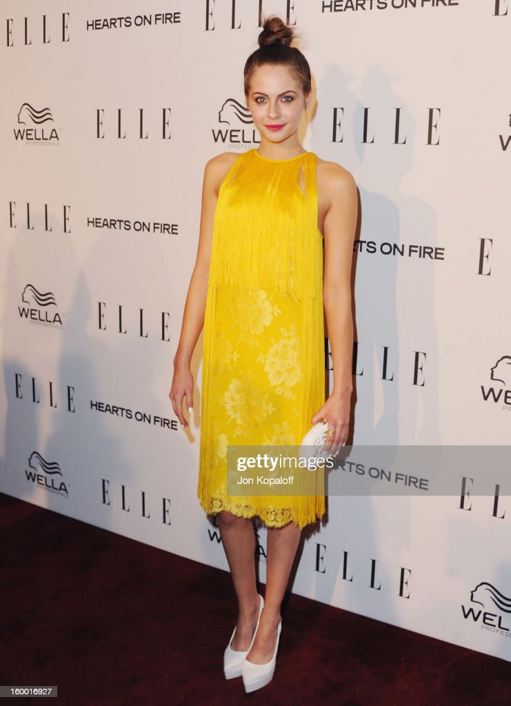Actress Willa Holland arrives at ELLE's 2nd Annual Women In TV Event at Soho House on January 24, 2013 in West Hollywood, California.