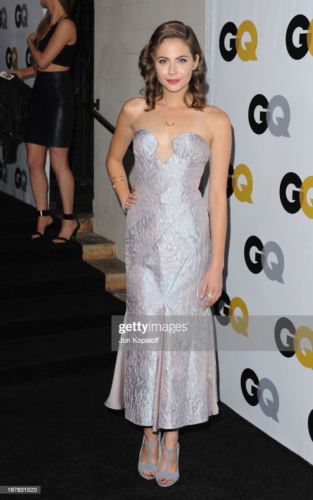 Actress <a gi-track='captionPersonalityLinkClicked' href=/galleries/search?phrase=Willa+Holland&family=editorial&specificpeople=737113 ng-click='$event.stopPropagation()'>Willa Holland</a> arrives at GQ Celebrates The 2013 'Men Of The Year' at The Wilshire Ebell Theatre on November 12, 2013 in Los Angeles, California.