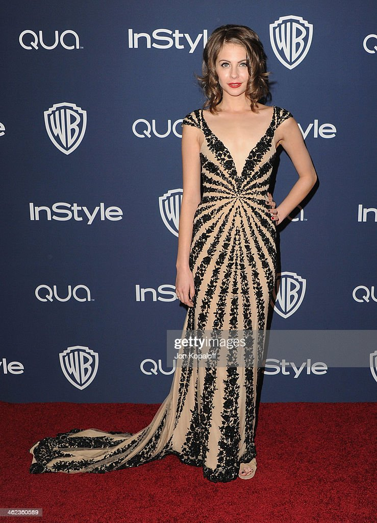 Actress Willa Holland arrives at the 2014 InStyle And Warner Bros 71st Annual Golden Globe Awards PostParty on January 12 2014 in Beverly Hills...