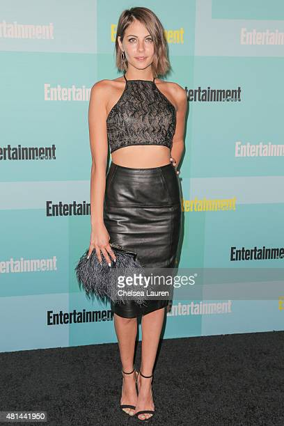 Actress Willa Holland arrives at the Entertainment Weekly celebration at Float at Hard Rock Hotel San Diego on July 11 2015 in San Diego California