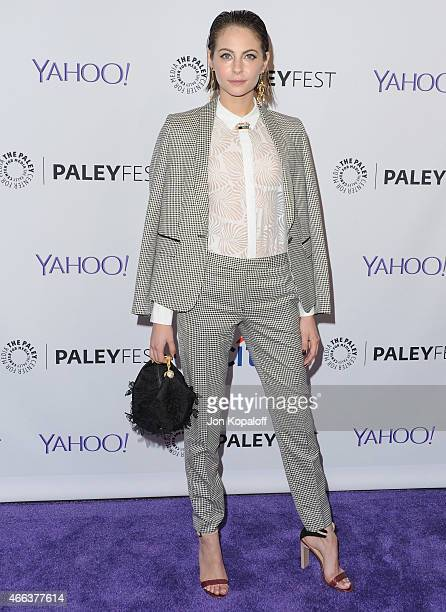 Actress Willa Holland arrives at The Paley Center For Media's 32nd Annual PALEYFEST LA 'Arrow' And 'The Flash' at Dolby Theatre on March 14 2015 in...