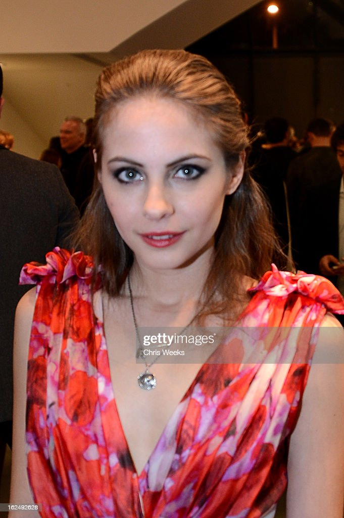 Actress <a gi-track='captionPersonalityLinkClicked' href=/galleries/search?phrase=Willa+Holland&family=editorial&specificpeople=737113 ng-click='$event.stopPropagation()'>Willa Holland</a> attends a Private Reception For Mario Testino at PRISMon February 23, 2013 in West Hollywood, California.