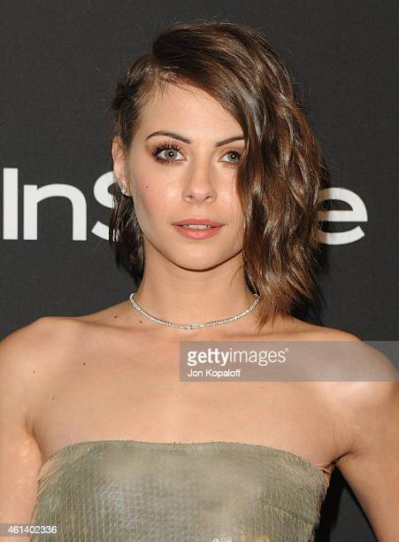 Actress Willa Holland attends the 16th Annual Warner Bros and InStyle PostGolden Globe Party at The Beverly Hilton Hotel on January 11 2015 in...