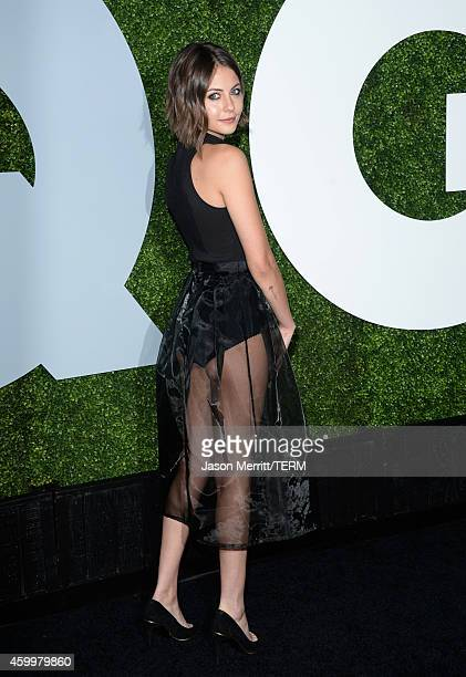 Actress Willa Holland attends the 2014 GQ Men Of The Year party at Chateau Marmont on December 4 2014 in Los Angeles California