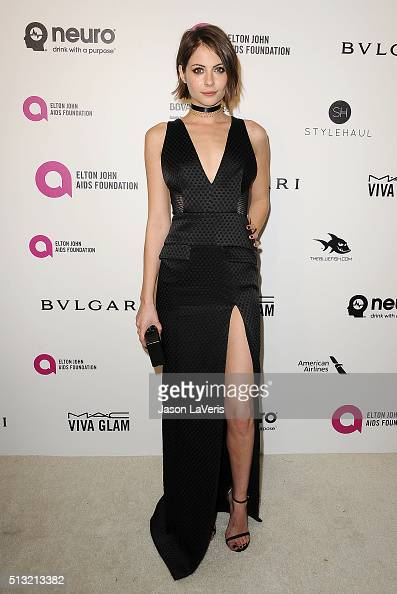 Actress Willa Holland attends the 24th annual Elton John AIDS Foundation's Oscar viewing party on February 28 2016 in West Hollywood California