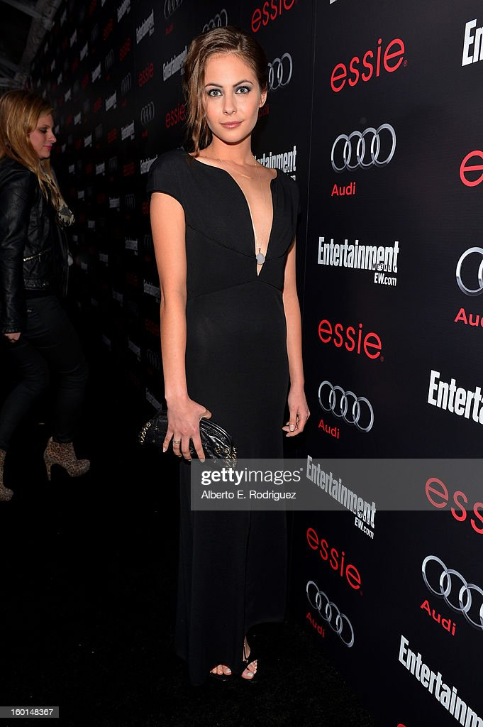 Actress Willa Holland attends the Entertainment Weekly Pre-SAG Party hosted by Essie and Audi held at Chateau Marmont on January 26, 2013 in Los Angeles, California.