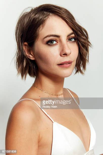 Actress Willa Holland from CW's 'Arrow' poses for a portrait during ComicCon 2017 at Hard Rock Hotel San Diego on July 22 2017 in San Diego California