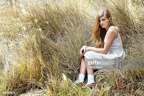 Actress Willow Shields is photographed for Teen Vogue Magazine on July 23 2013 in Los Angeles California PUBLISHED IMAGE