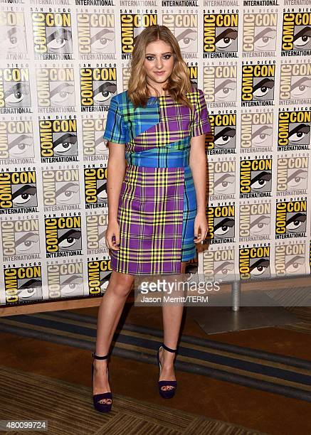 Actress Willow Shields of 'The Hunger Games Mockingjay Part 2' attends the Lionsgate press room during ComicCon International 2015 at the Hilton...