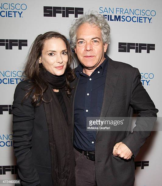 Actress Winona Ryder and director Michael Almereyda arrive at Closing Night Gala Premiere Of 'Experimenter' at 58th San Francisco International Film...