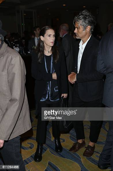 Actress Winona Ryder and Scott Mackinlay Hahn are seen on September 28 2016 in Los Angeles California