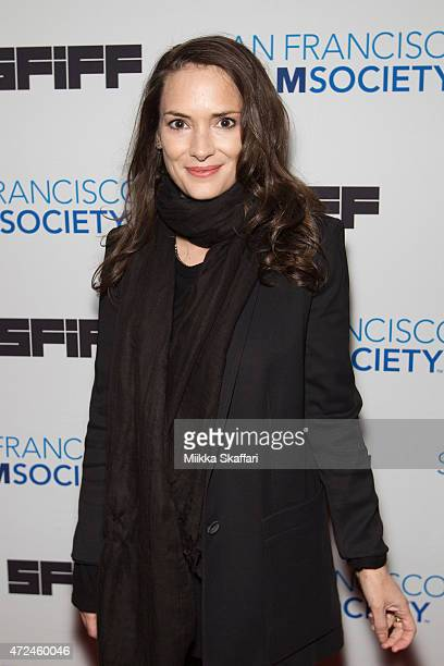 Actress Winona Ryder arrives at Closing Night Gala Premiere Of 'Experimenter' at 58th San Francisco International Film Festival at Castro Theater on...
