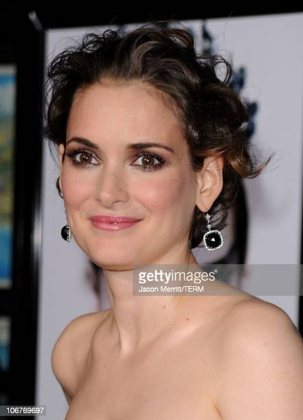 Actress Winona Ryder arrives at the 'Black Swan' closing night gala during AFI FEST 2010 presented by Audi held at Grauman's Chinese Theatre on...