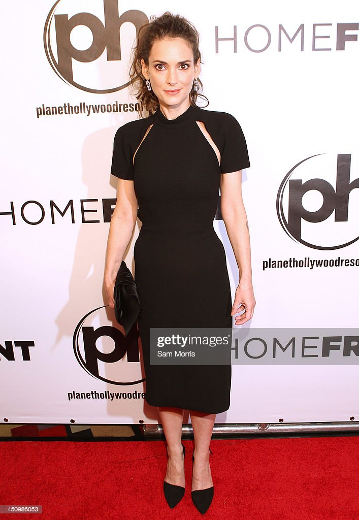 Actress <a gi-track='captionPersonalityLinkClicked' href=/galleries/search?phrase=Winona+Ryder&family=editorial&specificpeople=203145 ng-click='$event.stopPropagation()'>Winona Ryder</a> arrives at the Las Vegas premiere of Open Road Films''Homefront' at Planet Hollywood Resort & Casino on November 20, 2013 in Las Vegas, Nevada. The movie opens nationwide in the United States on November 27.