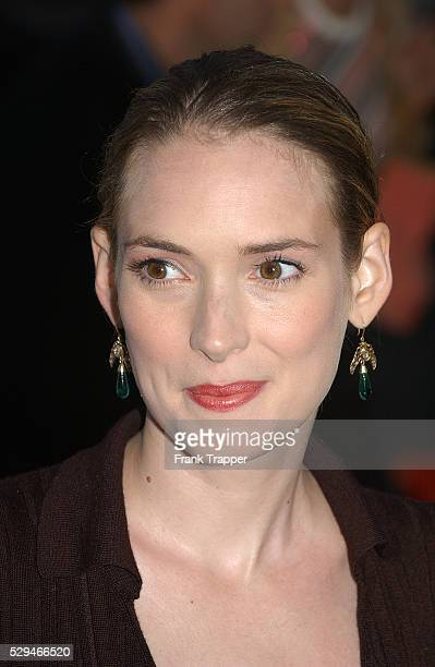 Actress Wynona Ryder arrives at the premiere of 'The Manchurian Candidate' in Los Angeles
