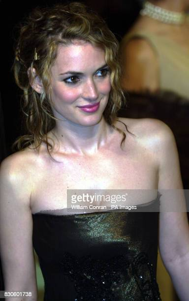 Actress Winona Ryder arrives for the Vanity Fair Post Oscars Party held at Morton's in Los Angeles USA * 16/10/02 Winona Ryder who has been ordered...