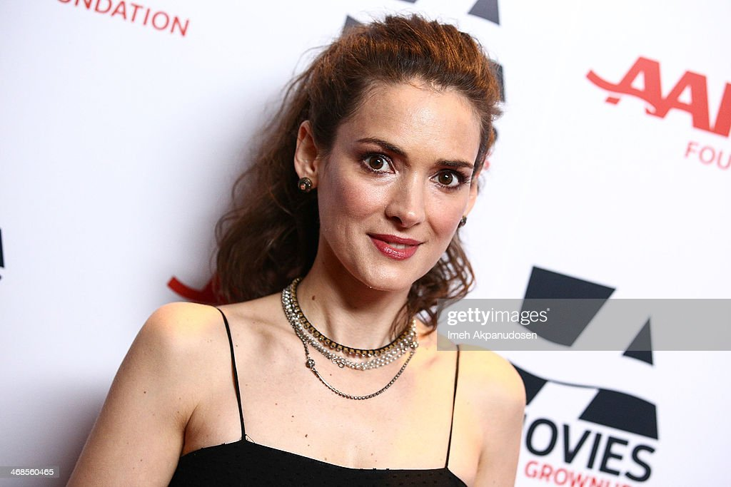 Actress <a gi-track='captionPersonalityLinkClicked' href=/galleries/search?phrase=Winona+Ryder&family=editorial&specificpeople=203145 ng-click='$event.stopPropagation()'>Winona Ryder</a> attends the 13th Annual AARP's Movies For Grownups Awards Gala at Regent Beverly Wilshire Hotel on February 10, 2014 in Beverly Hills, California.