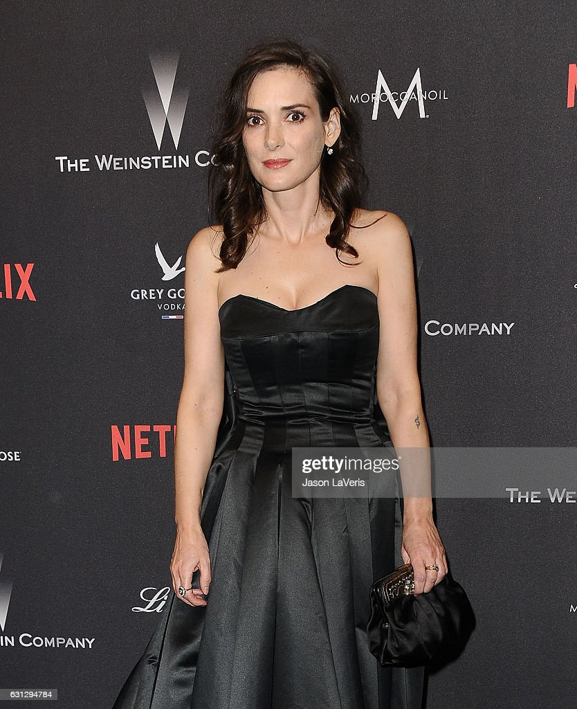 Actress Winona Ryder attends the 2017 Weinstein Company and Netflix Golden Globes after party on January 8, 2017 in Los Angeles, California.