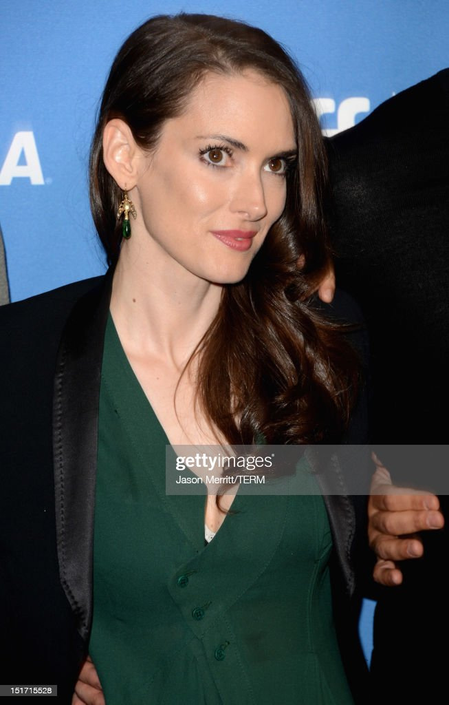 Actress Winona Ryder attends the 'Iceman' Photo Call during the 2012 Toronto International Film Festival at TIFF Bell Lightbox on September 10 2012...