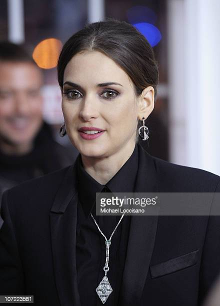 Actress Winona Ryder attends the New York Premiere of 'Black Swan' at Ziegfeld Theatre on November 30 2010 in New York City