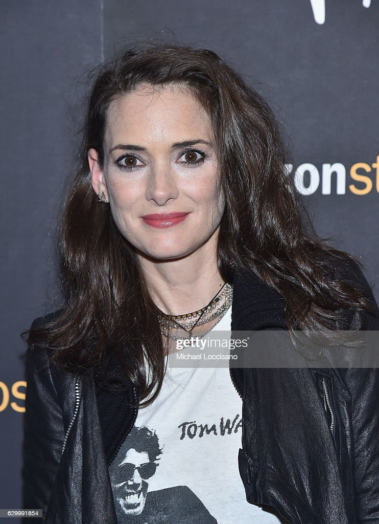 Actress Winona Ryder attends the New York screening of 'Paterson' at Landmark Sunshine Cinema on December 15, 2016 in New York City.