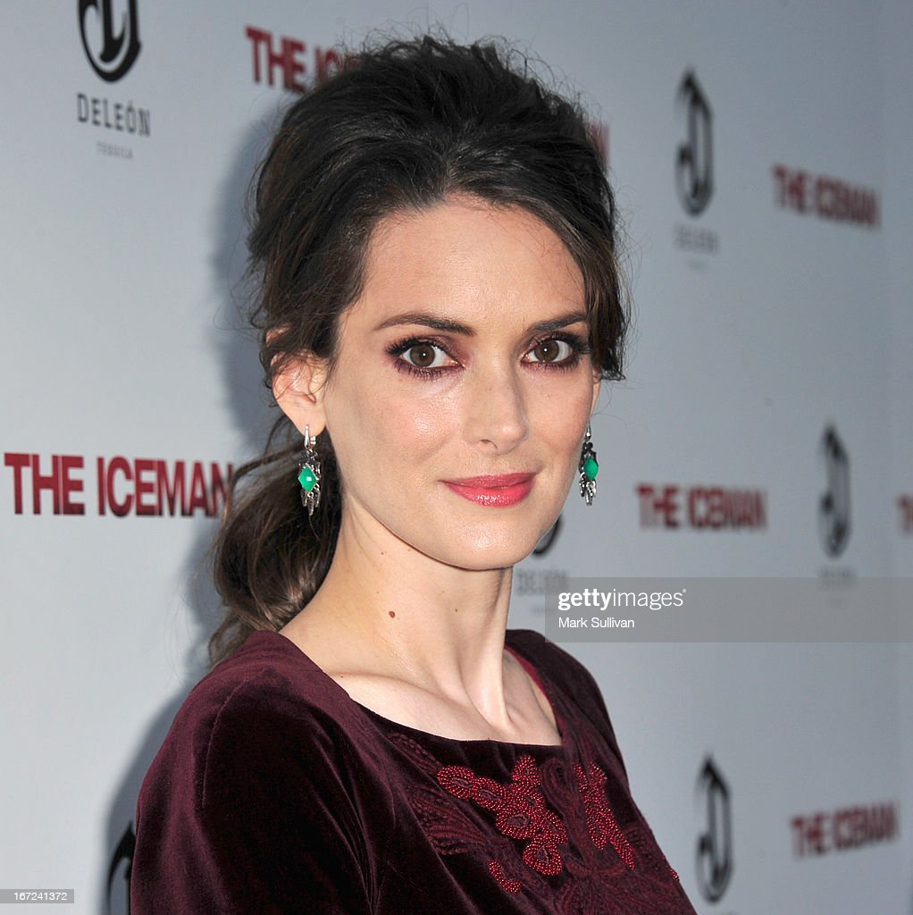 Actress Winona Ryder attends the premiere of Millennium Entertainment's 'The Iceman' at ArcLight Hollywood on April 22 2013 in Hollywood California
