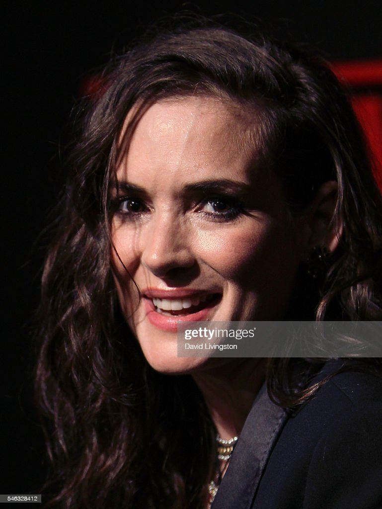 Actress Winona Ryder attends the premiere of Netflix's 'Stranger Things' at Mack Sennett Studios on July 11, 2016 in Los Angeles, California.