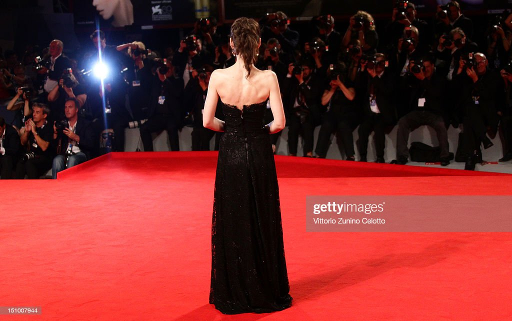 Actress Winona Ryder attends the 'Superstar' premiere during the 69th Venice Film Festival at the Palazzo del Cinema on August 30, 2012 in Venice, Italy.