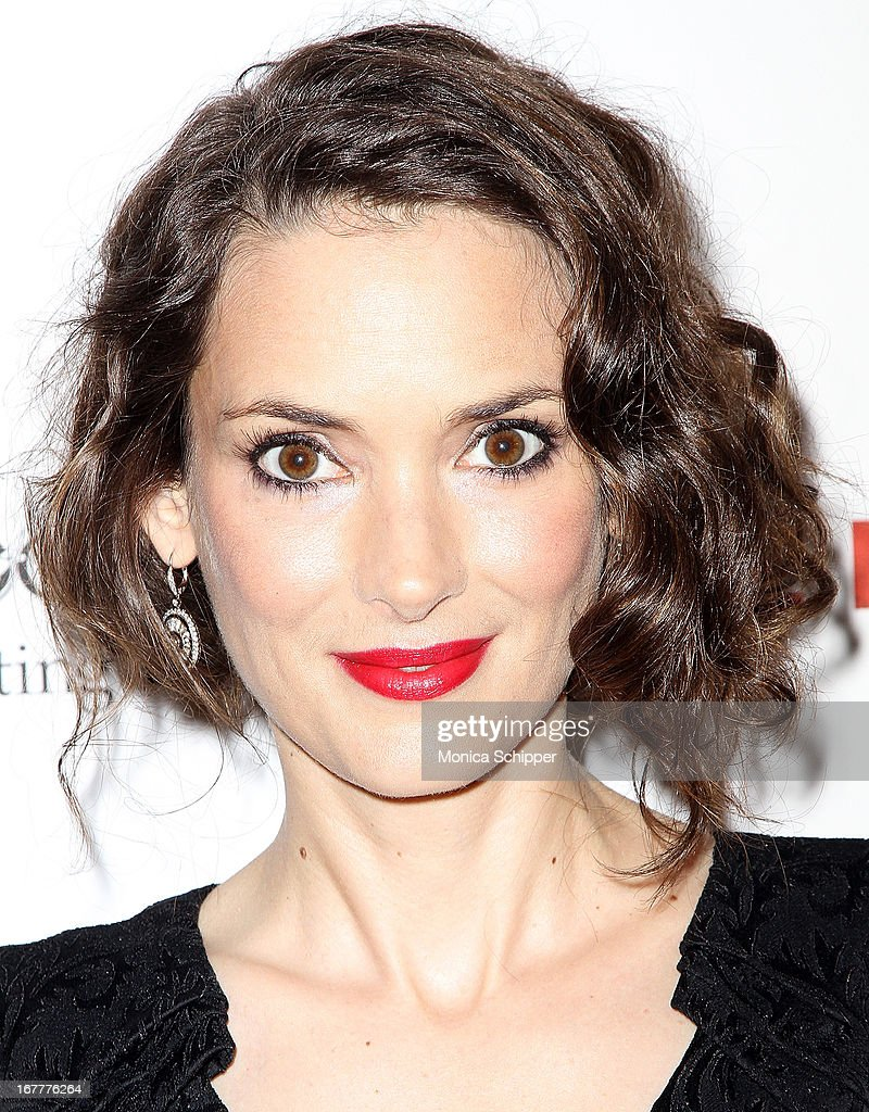 Actress Winona Ryder attends the 'The Iceman' screening at Chelsea Clearview Cinemas on April 29 2013 in New York City