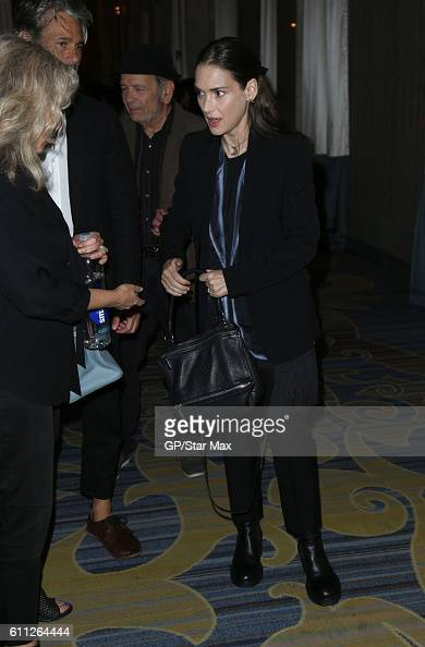 Actress Winona Ryder is seen on September 28 2016 in Los Angeles California