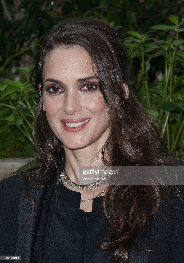 Actress <a gi-track='captionPersonalityLinkClicked' href=/galleries/search?phrase=Winona+Ryder&family=editorial&specificpeople=203145 ng-click='$event.stopPropagation()'>Winona Ryder</a> poses at the the 'Homefront' Los Angeles press conference and photo call at Four Seasons Hotel Los Angeles at Beverly Hills on November 18, 2013 in Beverly Hills, California.
