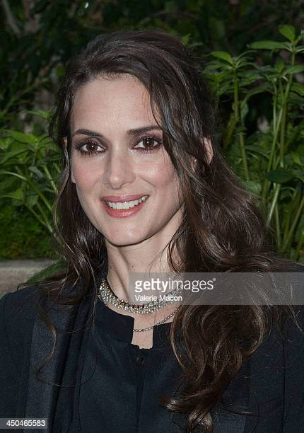 Actress Winona Ryder poses at the the 'Homefront' Los Angeles press conference and photo call at Four Seasons Hotel Los Angeles at Beverly Hills on...