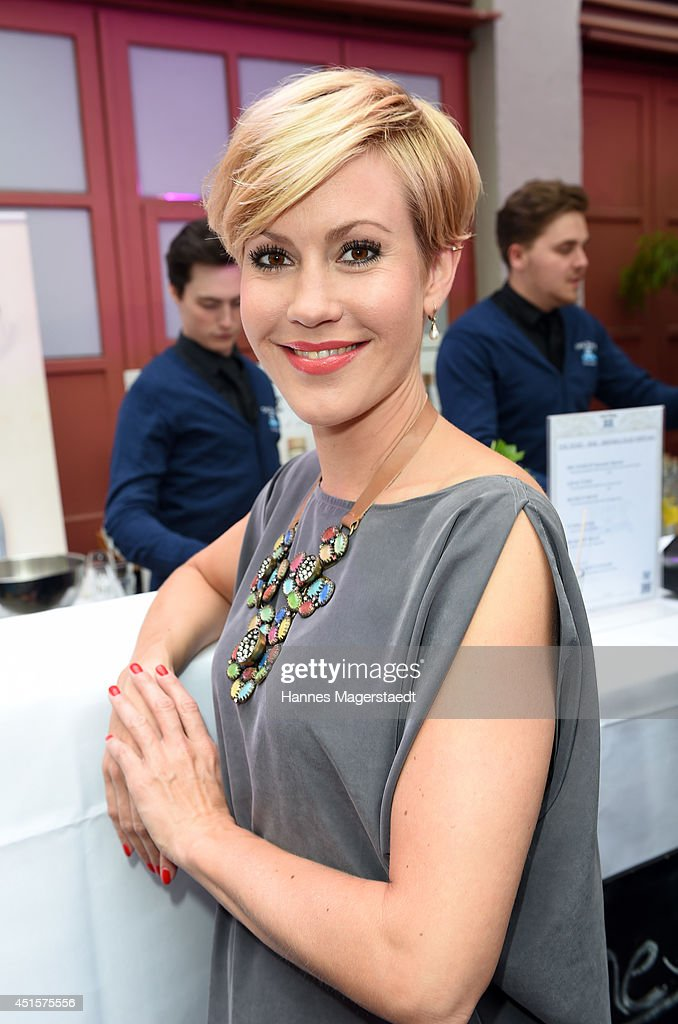 Actress Wolke Hegenbarth attends the Bavaria Reception at the Kuenstlerhaus as part of the Munich Film Festival 2014 on July 1, 2014 in Munich, Germany.