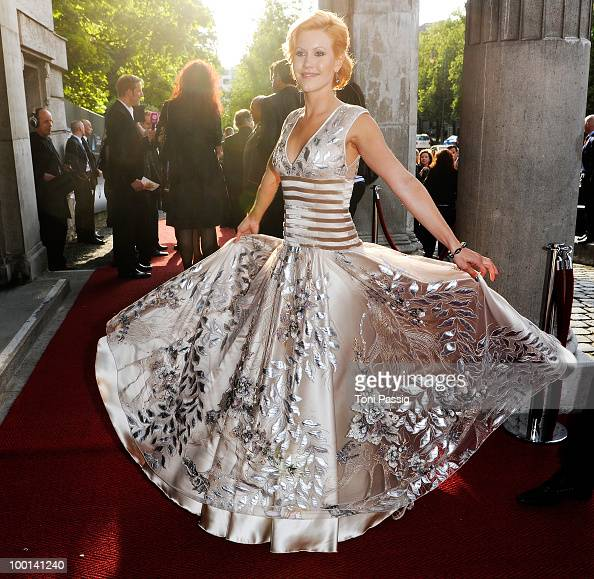 Actress Wolke Hegenbarth attends the 'Bayerischer Fernsehpreis 2010' at Prinzregententheater on May 21 2010 in Munich Germany
