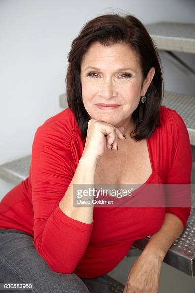 Actress writer Carrie Fisher photographed for People Magazine on August 16 2011 in Toronto Ontario